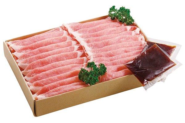 画像1: 岡山県産ピーチポークとんトン豚(SPF豚)生姜焼きセット (1)