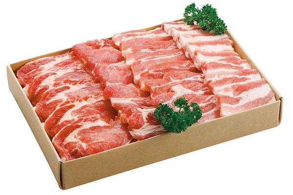 画像1: 岡山県産ピーチポークとんトン豚(SPF豚)焼肉ジュウじゅうセット (1)