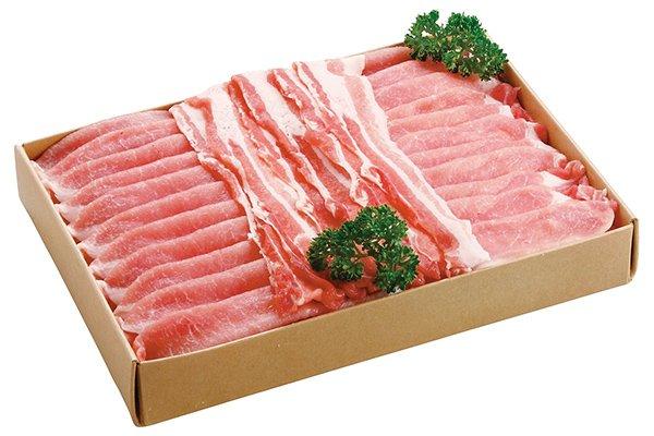 画像1: 岡山県産ピーチポークとんトン豚(SPF豚)スライス詰め合わせセット (1)