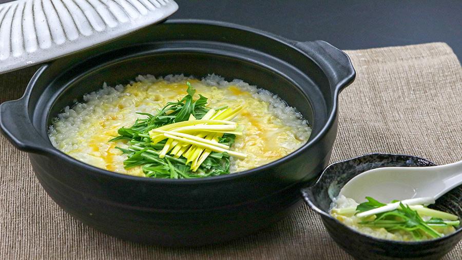 黄ニラ雑炊のイメージ写真