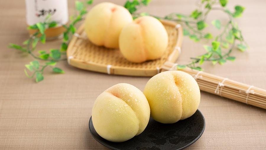 白桃のイメージ写真